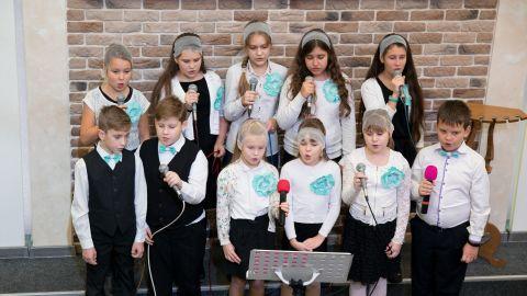 Участие детей воскресной школы