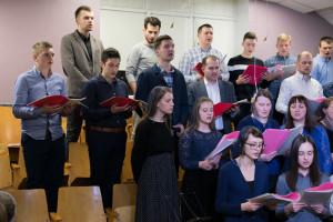 Участие хора ц. «Крынiца жыцця», г.Молодечно (10.03.2019)