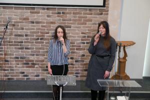 Участие гостей из ц. «Крынiца жыцця», г.Молодечно (10.03.2019)