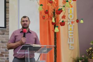 """Дмитрий Стасилевич, служитель ц. """"Гефсимания"""" (30.09.2018)"""