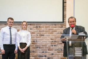 Поздравление Николая и Анны Ядловских (07.10.2018)