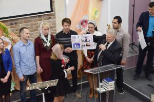Поздравление братьев и сестёр, заключивших завет с Господом (08.04.2018)