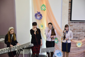 """Музыкальная группа """"Лилия Сарона"""" (12.04.2018)"""