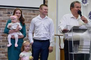 Благословение Эмилии Пашковец (10.06.2018)