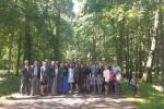 Поездка молодёжи в Клецк и Несвиж: в Несвижском парке (20.05.2018)
