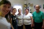 С местными сестрами в здании церкви (22.06.2018)