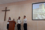 Служение молодёжного хора в п. Энергетиков (13.05.2018)