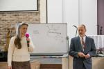 Чак Мельтон и Татьяна Бондарь (переводчик) (01.12.2018)