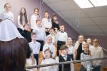 Участие детского хора (07.01.2019)