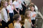 Участие детского хора  (10.03.2019)