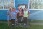 Сестра Альбина с женой пастора, Надеждой (29.06.2018)