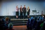 ц. Добрая весть (Витебск): поют Настя, Павел, Максим и Надя... (13.04.2014)