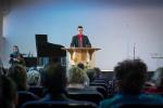 ц. Добрая весть (Витебск): брат Максим проповедует... (13.04.2014)