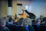 ц. Добрая весть (Витебск): стих сестры Дины... (13.04.2014)
