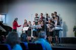 ц. Добрая весть (Витебск): поёт молодёжный хор... (13.04.2014)