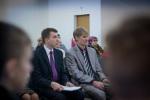 Церковь г. Новополоцка: брат Дмитрий и служитель поместной церкви... (13.04.2014)