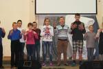 Старшая группа слабослышащих детей воскресной школы (14.05.2014)