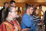 Конференция глухих в г.п. Ушачи (10.05.2014)