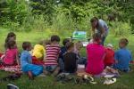 Урок на полянке (09.06.2012)