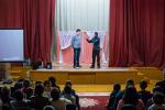 Служение в школе для слабослышащих детей (22.01.2014)