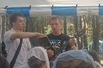 Пение брата Тимофея (18.07.2014)