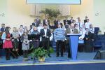 Группа прославления поместной церкви и пастор Л.В.Бирюк (07.12.2014)