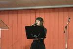 Жанна Гляд рассказывает стихотворение (19.12.2014)