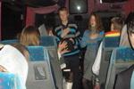 Богослужение в автобусе по дороге домой (псалом жестами) (13.12.2014)