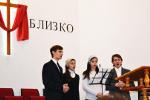 В церкви г. Берёзовка (15.03.2015)