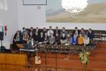 Гродненская церковь - перед богослужением (15.02.2015)