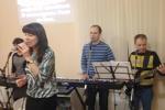 Богослужение в церкви Преображение, г. Кострома. (25.02.2015)