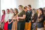 Богослужение в центральной церкви ХВЕ г. Брянск. (10.05.2015)
