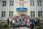 Общее фото в Брянске перед центральной церковью. (10.05.2015)