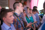 Богослужение в Людиново. (10.05.2015)
