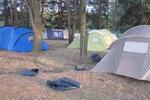 Самые большие палатки уже расставлены (14.07.2015)