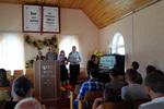 Служение в Кнотовщине: пение группы