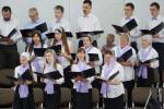 """Совместный хор в ц.""""Христос для всех"""", г. Солигорск (17.06.2018)"""