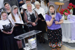 Участие основного и молодёжного хоров (24.06.2018)