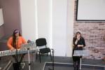 Ирина Лютаревич и Мария Баган (06.12.2018)