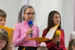 Участие подросткового хора (20.10.2019)