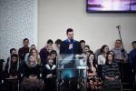 """Участие молодёжи в ц.""""Зов Христа"""", г.п. Старобин (15.03.2020)"""