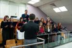 Совместное участие хора и оркестра (13.12.2020)