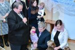 Благословение дочери (Анна) Гурковых Владислава и Елены (07.01.2016)