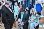 Благословение сына (Иван) Волчек Дмитрия и Татьяны (07.01.2016)