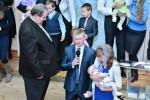 Благословение дочери (Элина) Пашковец Фёдора и Лилии (07.01.2016)