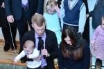 Благословение сына (Давид) Белоус Дмитрия и  Екатерины (07.01.2016)