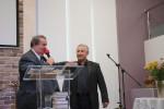Слева - Николай Михайлович Стасилевич, справа - Николай Иванович Ковалёв, ответственный за молитвы перед собраниями (14.10.2018)