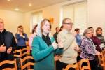 В поместной церкви Гомеля (11.11.2017)