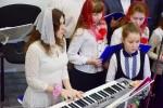 Концертмейстер хора Милана Лимина (07.01.2018)