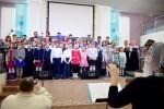 Совместный детский и взрослый хора (07.01.2018)